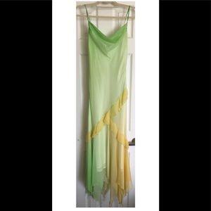 Green/yellow summer dress!